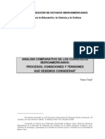 Terigi, Flavia (2002) - Análisis comparativo de los currículos iberoamericanos de educación inicial; procesos, condiciones y tensiones que debemos considerar