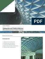 Stabwerke auf Freiformflächen - Reticulated Structures on Freeform Surfaces