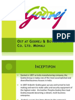 Ost at Godrej & Boyce Mfg