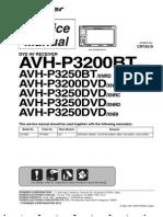 Service-man Pioneer Avh-p3200bt p3250bt
