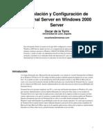 Configurar Terminal Server