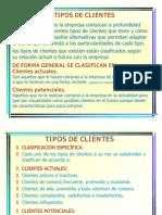 CLASIFICACIÓN DE LOS CLIENTES ACTUALES Y POTENCIALESs