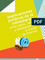 Cartilla REDPAPAZ Implicaciones Juridicas de La Intimidacion a Traves de INTERNET