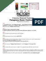 Regolamento Di Iscrizione PMF 11