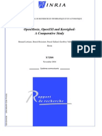 OpenMosix - OpenSSI and Kerrighed - A Comparative Study