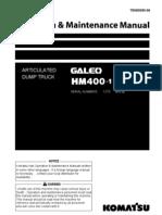 Manual de Operaciones Hm 400