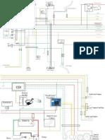 Diagrama Eléctrico Motomel CG 125