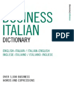 Business Italian Dictionary