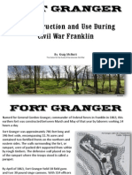 Who built Fort Granger?