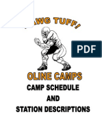 2007 Camp Schedule and Sc