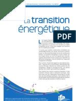 IFP - La Transition Energetique Synthèse juillet 2007
