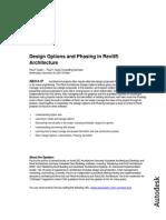 Revit Phasing and Design Options