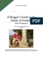 A Blogger's Guide to the Battle of Franklin (Kraig McNutt)