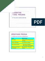 Presentasi Tiang Pancang Wijaya Karya Beton