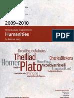 Humanities Prospectus
