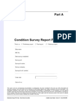 PART a - Condition Survey Report Form