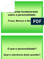 As Teorias Fundamentais Sobre a Personalidade