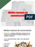 Medios masivos de comunicación (primero medio)