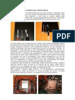CAMBIAR LA PASTA TÉRMICA DEL PROCESADOR