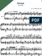 No. 1 Nocturne in F# Minor -- Rachmaninoff