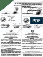 Decreto 42-2010 Ley Que Promueve El Turismo Interno