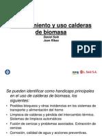 Mantenimiento y Uso Calderas de Biomasa