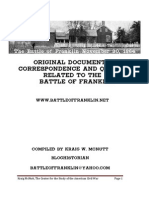 Original Documents and Letters related to the Battle of Franklin - Volume One