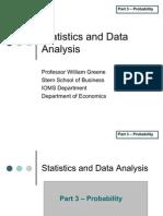 Statistics 3 Probability