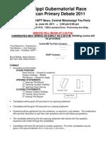 June 25 Debate Format