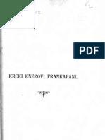 Vjekoslav Klaic Krcki Knezovi Frankоpаni