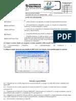 Informática - 1º Ano Integrado (CTA)