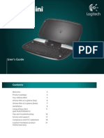 Logitech DiNovo Mini PS3 UserGuide