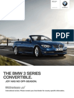 3 Series Convertible Catalogue Bmw e93