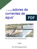 Mediciones de Corriente de Agua Alfaradores Parshall
