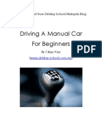 Driving Manual Car for Beginners