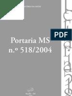 067_Portaria 518-04 - Anvisa -completo