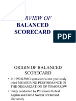 Balance Score Card