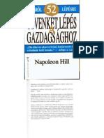 Napoleon Hill - Ötvenkét lépés a gazdagsághoz
