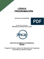 LOGICA DE PROGRAMCION