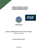 CATADORES DE MATERIAIS RECICLÁVEIS
