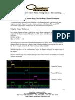 Quantum Composers White Paper- Multiplexing Model 9520 Digital Delay Pulse Generator