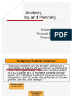 Financial Forecasting and FOP