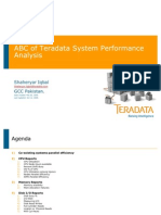 ABC of Teradata System Performance Analysis