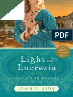 Light on Lucrezia by Jean Plaidy - Excerpt