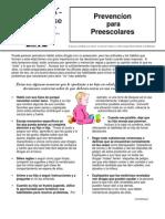 Prevencion Para Preescolares 091605
