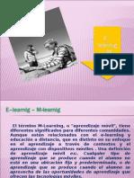 E Learnig M Learnig