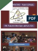 Palestra Argentina- Segunda Parte 4º ENPA