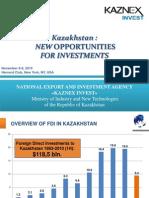 KazNex National Export and Investment Agency Kazakhstan