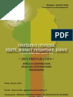 Conférence pour un Bénin apaisé