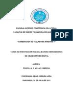 COMBINACIÓN DEL TECLADO
